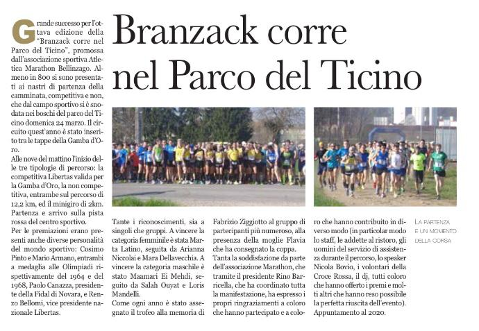 Calendario Fidal Piemonte 2020.Il Ricreo Trail Bellinzago Marathon Bellinzago